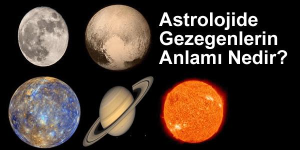 Astrolojide Gezegenlerin Anlamı Nedir?